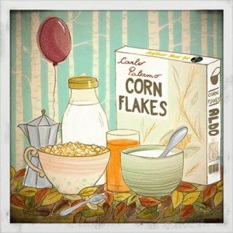 Copertina dell'album Corn Flakes, di CARLO PALERMO