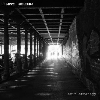 Copertina dell'album Exit Strategy, di Happy Skeleton