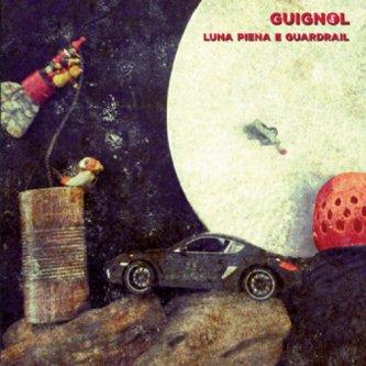 Luna piena e guardrail