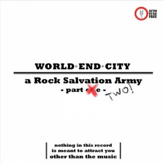 Copertina dell'album A Rock Salvation Army (part 2), di World End City