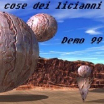 Copertina dell'album Demo '99, di Le Cose dei Licianni