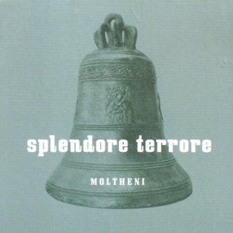 Copertina dell'album Splendore Terrore, di Umberto Maria Giardini