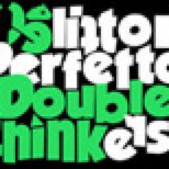 Copertina dell'album Doublethinkers, di Delitto Perfetto