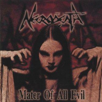Copertina dell'album Mater of all evil, di Necrodeath
