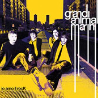 Copertina dell'album Io amo il rock (cd singolo), di Grandi Animali Marini