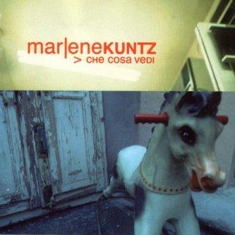 Copertina dell'album Che cosa vedi, di Marlene Kuntz