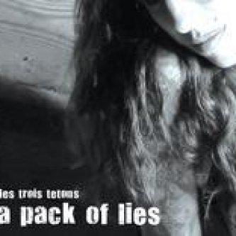 Copertina dell'album A Pack Of Lies, di Les Trois Tetons