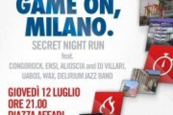 Game on World porta sul palco di Piazza Affari a Milano Congorock, Ensi e Alioscia dei Casino Royale