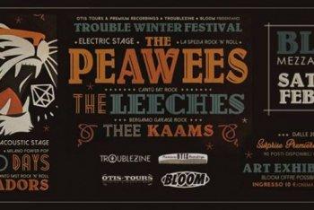 Prima edizione invernale del Trouble Festival