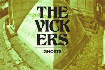 """La copertina di """"Ghosts"""", il nuovo album dei The Vickers"""