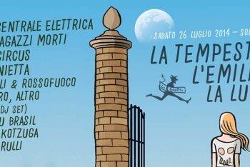 La locandina de La Tempesa, l'Emilia, la Luna