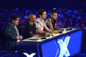 I giudici di X Factor Italia 9, Elio, Skin, Mika e Fedez
