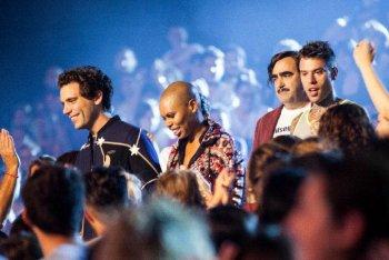 Mika, Skin, Fedez e Elio di X Factor