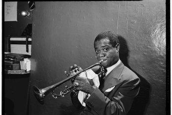 Louis Armstrong, ph: William P. Gottlieb