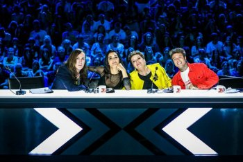 I giudici di X Factor 2017, foto via Tvzap