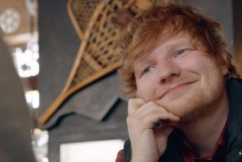 "Ed Sheeran (immagine dal video di ""Perfect"")"