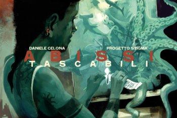 """Daniele Celona """"Abissi tascabili"""" (copertina di Cosimo Miorelli)"""
