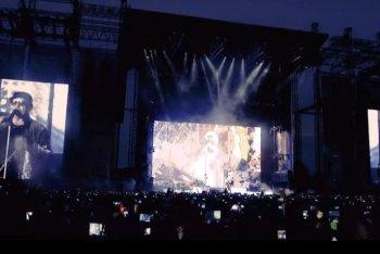 Vasco Rossi in concerto per il Non Stop Live Tour