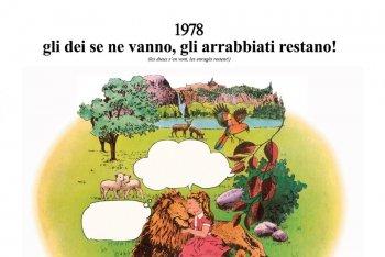 """Il disco degli Area """"1978 gli dei se ne vanno, gli arrabbiati restano!"""""""
