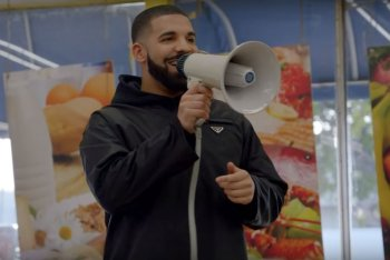 "Drake nel video di ""God's Plan"""
