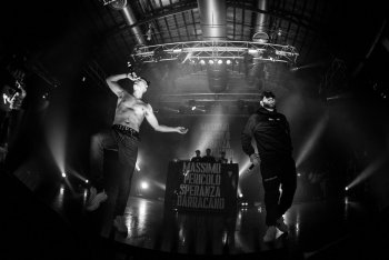 Massimo Pericolo, Speranza e Barracano live all'Alcatraz di Milano il 12 novembre - Foto Nicola Braga/Rockit
