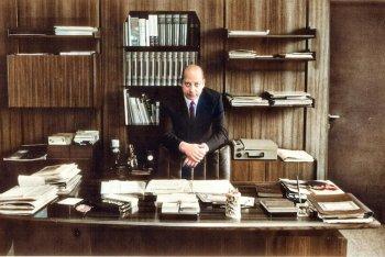 """Il fondatore di Carosello Giuseppe Gramitto Ricci, foto dal libro """"Carosello Records 60x60"""""""