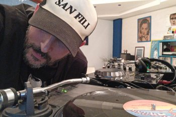 Fabio Nirta nei suoi dj set casalinghi