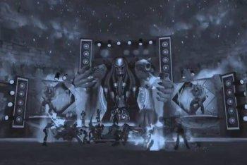 Un momento del live virtuale dei Korn