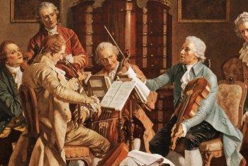 Una rappresentazione di un concerto di Haydn