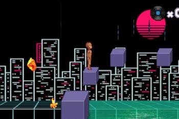 """Immagini dal videogame di """"Back 2 Bed"""""""