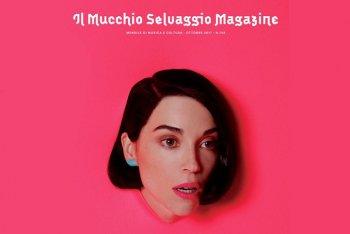 Un estratto dalla copertina del numero di ottobre 2017 de Il Mucchio Selvaggio Magazine