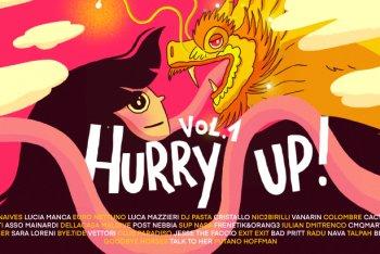 """Il banner di """"Hurry Up! Vol.1"""" - Carlotta Scalabrini"""