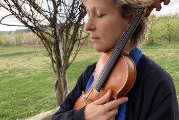 Silvia Tarozzi e il suo violino