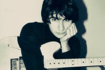 """Umberto Palazzo da ragazzo, foto utilizzata per la cover del suo ultimo album """"L'Eden dei lunatici"""""""