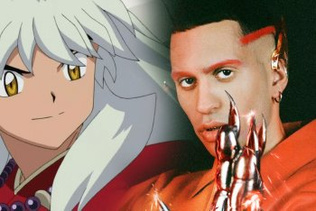 Inuyasha, il personaggio di Rumiko Takahashi, assieme a Mahmood