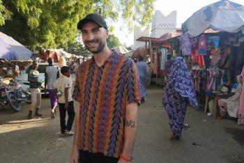 Giulio Fonseca, aka Go Dugong, a N'Djamena