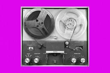 Un vecchio registratore Ampex, foto di Zacks