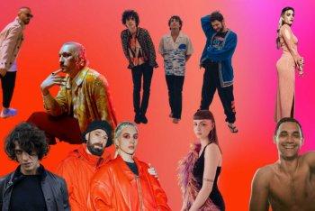 Alcuni degli artisti in lista