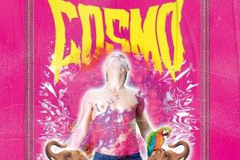 Un particolare del poster dell'evento di Cosmo