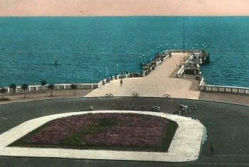 Il pontile di Ostia sessant'anni fa - foto via Facebook