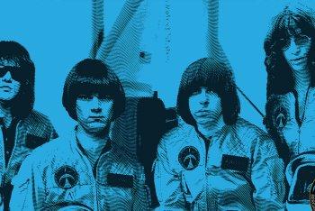 I Ramones pronti per andare nello spazio
