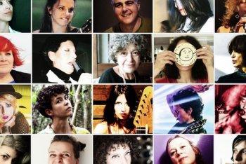 """Le 16 partecipanti alla versione tributo di """"Donna circo"""""""