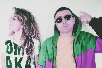 Eleonora Fiorani e Nicola Sbrozzi di Denis The Night and the Panic Party - foto stampa