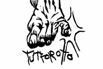 Logo dell'etichetta Tuttorotto – Xilografia di BALLAK (Francesco Cau)