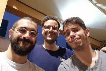 Pietro, Riccardo e Giuseppe: gli F4