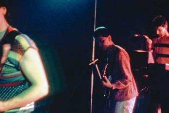 Una foto vintage del Confusional Quartet