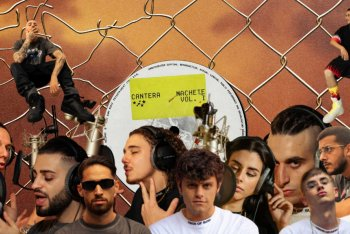 """Gli 11 talenti di casa Machete sulla cover di """"Cantera Machete vol. I"""""""