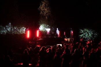 Il palco del Pollino Music Festival - tutte le foto sono di Marco Previdi