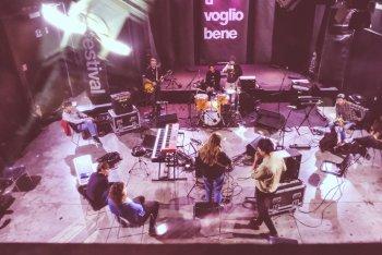 I preparativi per il live di giovedì a _resetfestival - tutte le foto di Marzia Benigna