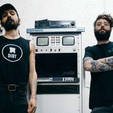 Karim Qqru e David Stefani della Dirt Tapes